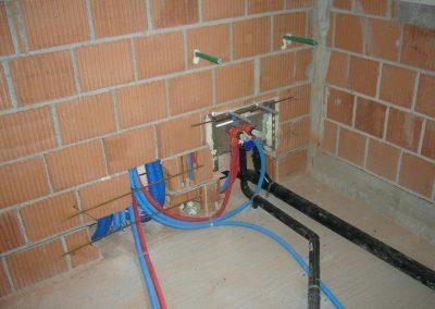 Impianto idrico adduzione acqua realizzato da Bisconti e Marcon