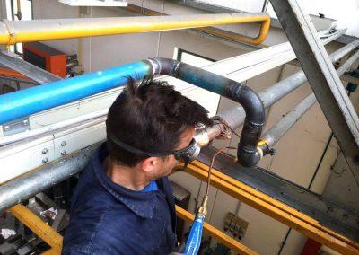 Manutenzione impianto idrico industriale