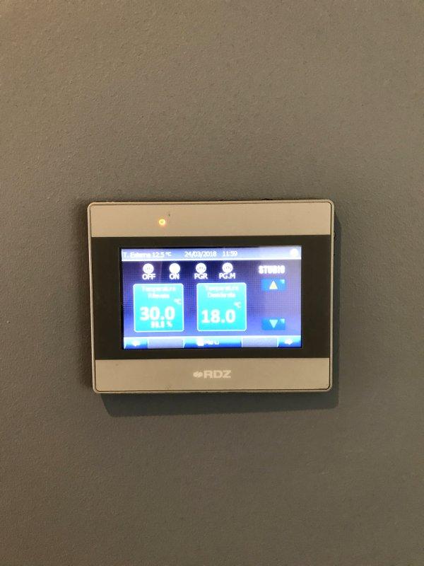 Controller digitale impianto di riscaldamento